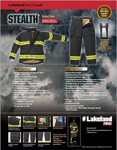 Stealth Turnout Gear Data Sheet pdf
