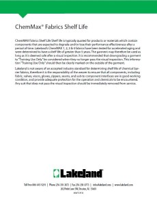 Chemical Fab Shelf
