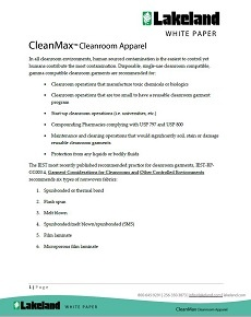 CleanMax White Paper